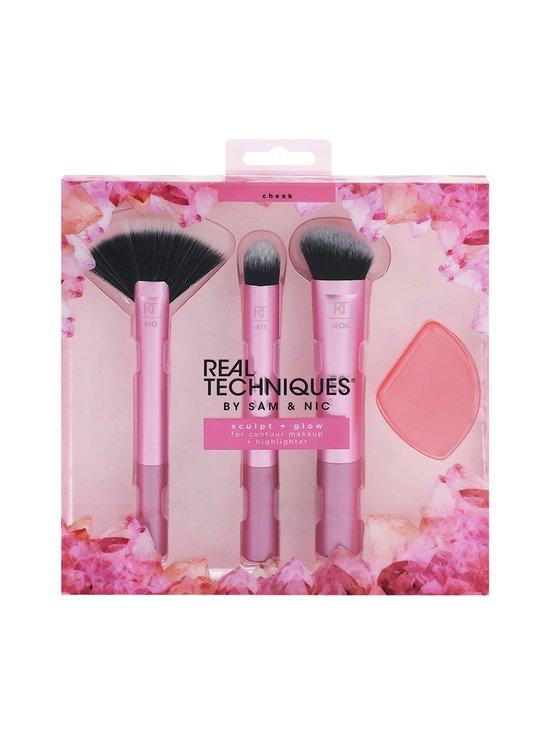 Real Techniques - Sculpt & Glow -Makeup Brush Set Limited Edition -sivellinpakkaus - NOCOL | Stockmann - photo 1