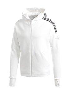adidas Performance - Z.N.E. 3-Stripes -huppari - WHITE WHITE | Stockmann