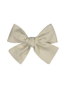 KAIKO - Linen Bow Hairclip -hiussolki - C8 BEIGE | Stockmann