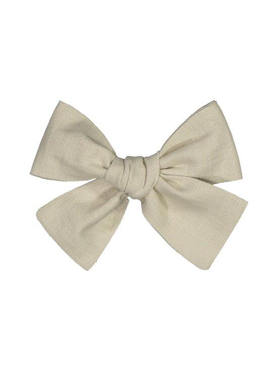 KAIKO - Linen Bow Hairclip -hiussolki - C8 BEIGE   Stockmann - photo 1