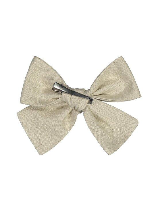 KAIKO - Linen Bow Hairclip -hiussolki - C8 BEIGE   Stockmann - photo 2