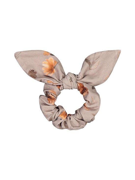 KAIKO - Bow Scrunchie -hiusdonitsi - A9 POPPY FIELD TAUPE   Stockmann - photo 1