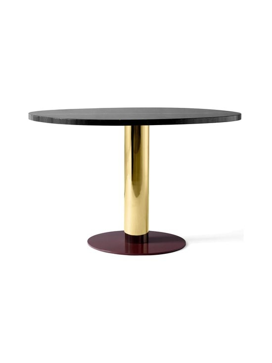 &tradition - Mezcla JH22 -pöytä 120 x 90 x 73 cm - NERO MARQUINA / BRASS / BURGUNDY | Stockmann - photo 1