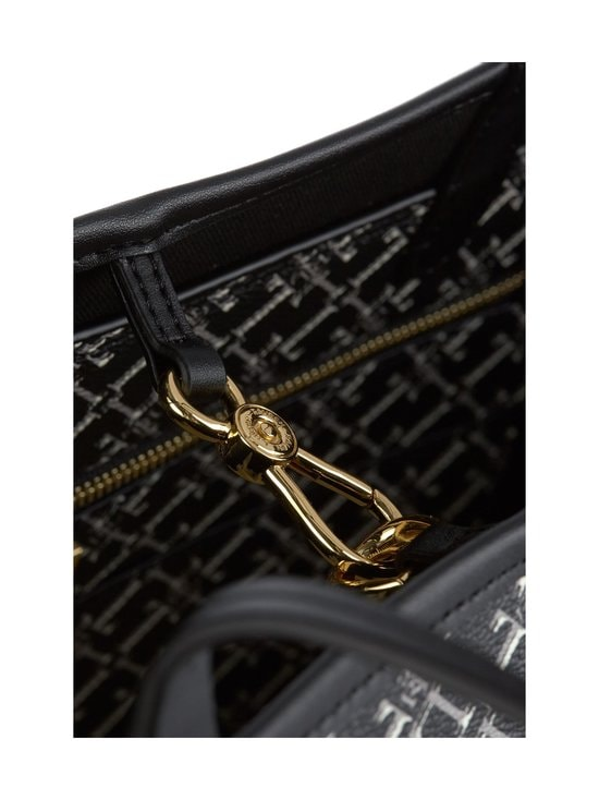 Lauren Ralph Lauren - Collins 32 Tote -laukku - 3DEU BLACK HERITAGE LOGO | Stockmann - photo 3