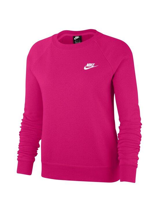 Nike - Sportswear Essential Crew -collegepaita - 616 FIREBERRY/WHITE | Stockmann - photo 1
