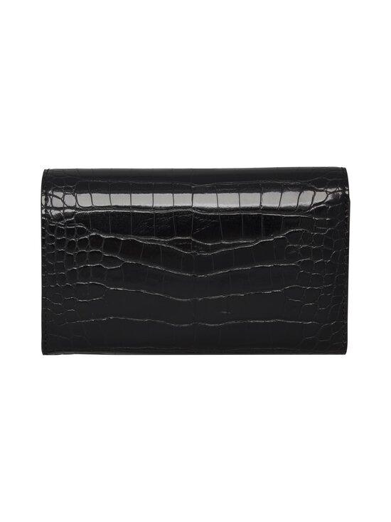Tommy Hilfiger - TH Lock Med Flap Wallet -lompakko - 0GJ BLACK CROC | Stockmann - photo 2