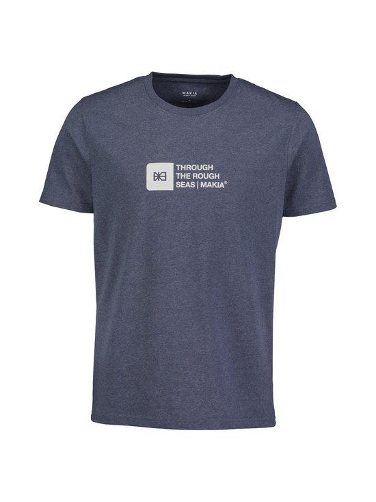 Makia - Flint T-Shirt -paita - 640 BLUE | Stockmann - photo 1