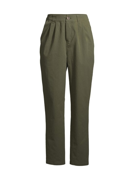Minimum - Agnesa Pant -housut - 0627 FIR GREEN | Stockmann - photo 1