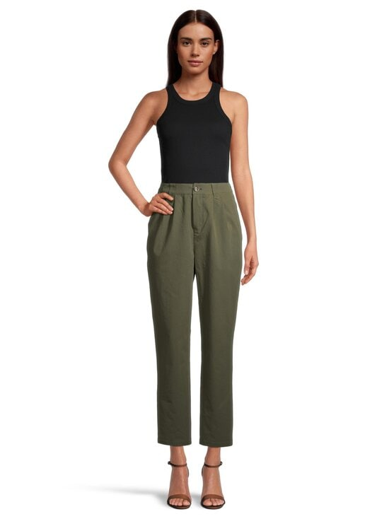 Minimum - Agnesa Pant -housut - 0627 FIR GREEN | Stockmann - photo 2