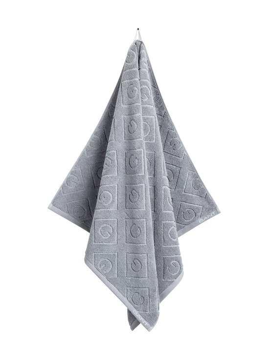 Gant Home - Organic G -pyyhe 70 x 140 cm - 161 ELEPHANT GREY | Stockmann - photo 1