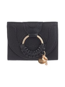 See By Chloe - Compact Wallet -nahkalompakko - BLACK 001 | Stockmann