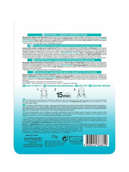 Garnier - Skin Active Tissue Mask -kangasnaamio 28 g - NOCOL | Stockmann - photo 3