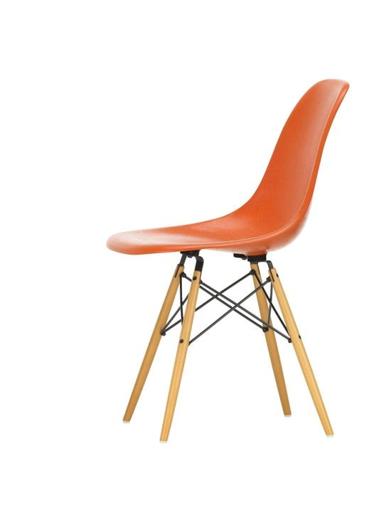 Vitra - Eames DSW Fiberglass -tuoli - 02 MAPLE/RED ORANGE03 | Stockmann - photo 2