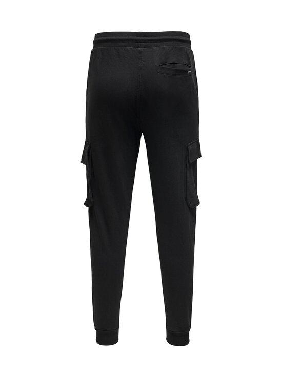 Only & Sons - OnsKian Kendrick Chino Sweat Pants -housut - BLACK | Stockmann - photo 2