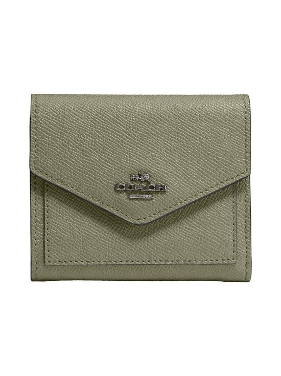 Coach - Small Wallet -nahkalompakko - V5/LIGHT FERN | Stockmann - photo 1