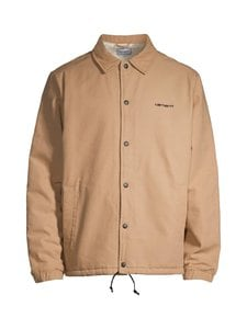 Carhartt WIP - Canvas Coach Jacket -takki - DUSTY H BROWN / BLACK | Stockmann
