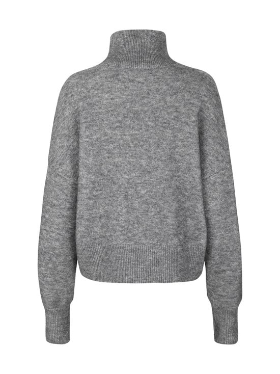 Samsoe & Samsoe - Nola T-Neck -villaneule - DARK GREY MEL | Stockmann - photo 2
