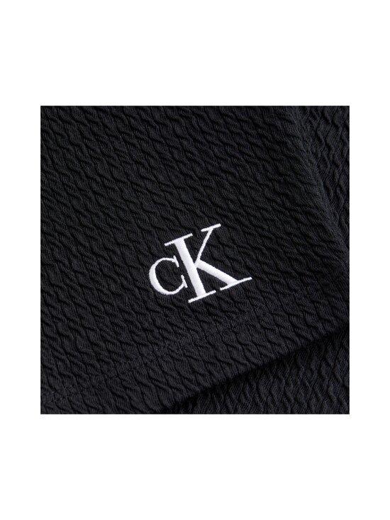 Calvin Klein Jeans - Slub Rib Cropped Strappy -toppi - BEH CK BLACK   Stockmann - photo 2