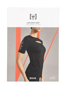 Wolford - Logo Script -paita - 9330 BLACK/WHITE | Stockmann