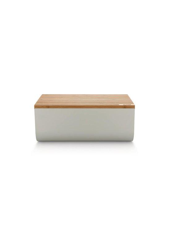 Alessi - Mattina Bread Box -leipälaatikko - WARM GREY/BAMBOO   Stockmann - photo 2