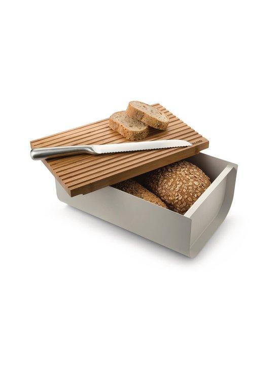 Alessi - Mattina Bread Box -leipälaatikko - WARM GREY/BAMBOO   Stockmann - photo 3
