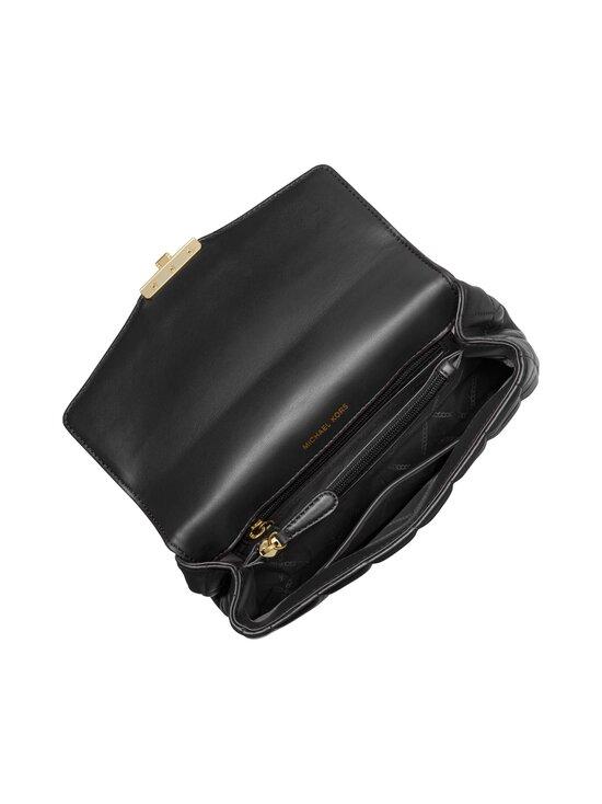Michael Michael Kors - Soho Large Quilted Leather Shoulder Bag -nahkalaukku - 001 BLACK | Stockmann - photo 3