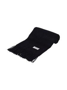 Les Deux - Solid Wool Scarf -merinovillahuivi - 100100-BLACK | Stockmann