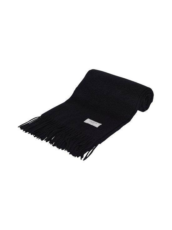 Les Deux - Solid Wool Scarf -merinovillahuivi - 100100-BLACK | Stockmann - photo 1
