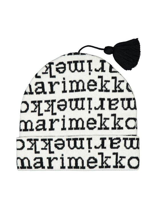 Marimekko - Selven Logo -pipo - BLACK, WHITE | Stockmann - photo 1