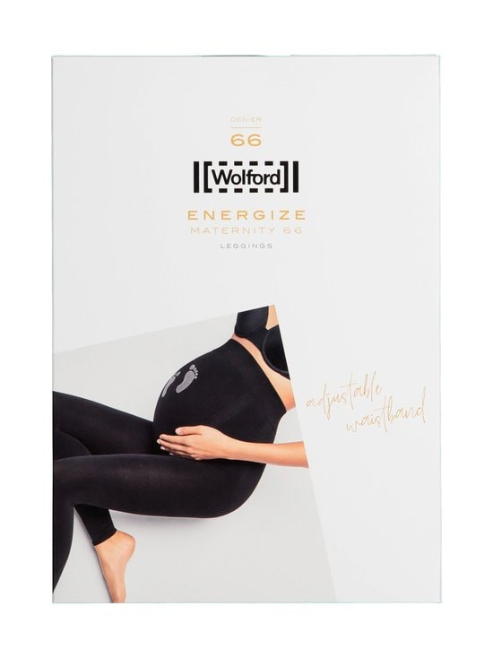 Wolford - Maternity 66 den -äitiysleggingsit - 9069 BLACK/ASH | Stockmann - photo 1