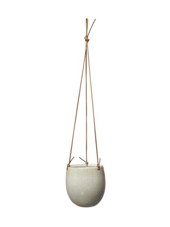 Wikholm Form - Nadia Hanging Pot -amppeli 14 x 16 + 50 cm - OFFWHITE   Stockmann - photo 1
