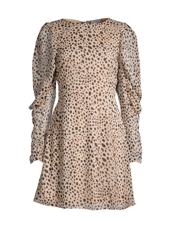Vila - ViAltas L/S Dress -mekko - CLOUD DANCER AOP:GEPARD | Stockmann - photo 1