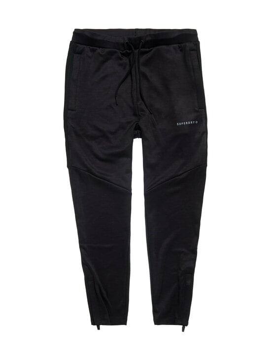 Superdry Sport - Training Track Pants -housut - 02A BLACK | Stockmann - photo 1