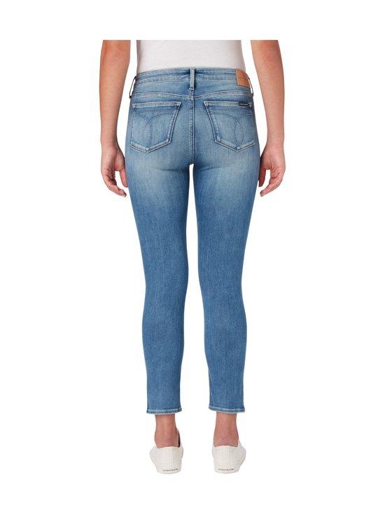 Calvin Klein Jeans - Super Skinny Ankle -farkut - 1AA AB039 LIGHT BLUE DSTR RIVET | Stockmann - photo 3