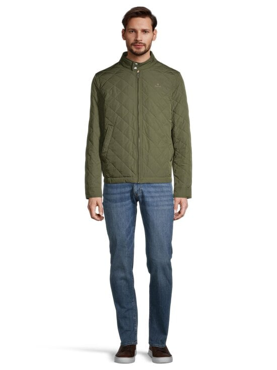 GANT - Quilted Windcheater -takki - 372 DARK LEAF | Stockmann - photo 2