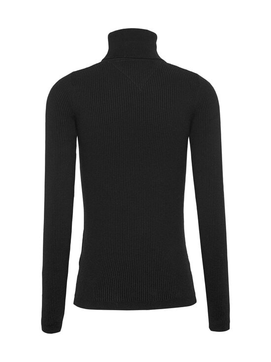 Tommy Jeans - Tommy Flag Roll Neck -pooloneule - BDS BLACK | Stockmann - photo 2