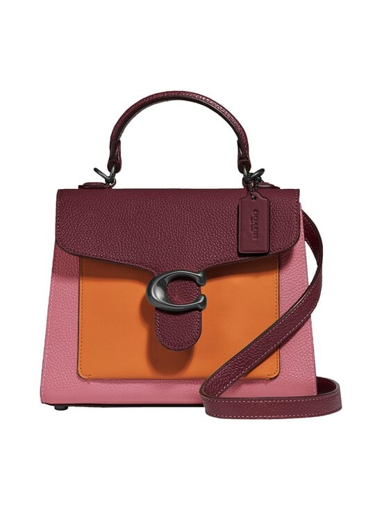 Coach - Tabby Top Handle 20 In Colorblock -nahkalaukku - V5NGU V5/VINTAGE PINK MULTI | Stockmann - photo 1