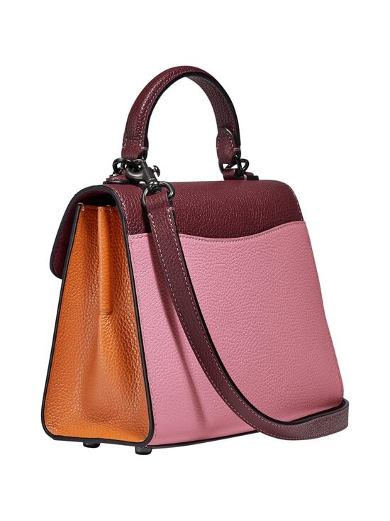 Coach - Tabby Top Handle 20 In Colorblock -nahkalaukku - V5NGU V5/VINTAGE PINK MULTI | Stockmann - photo 2