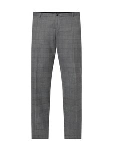 Calvin Klein Menswear - BRUSHED GLENCHECK CLASSIC -housut - PRZ GRANITE ROAD   Stockmann