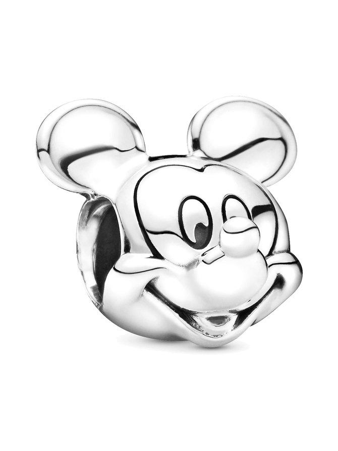 Disney Mickey Silver Charm