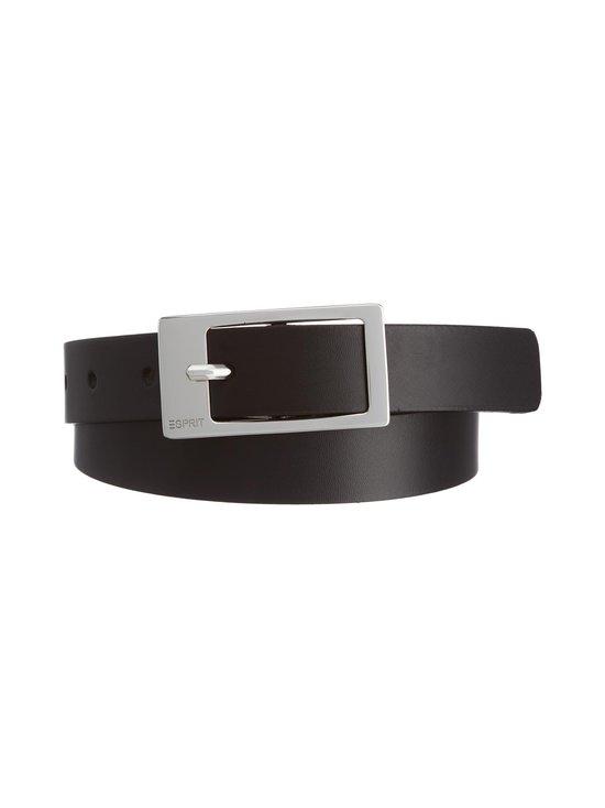 Esprit - Gamila-nahkavyö - 001 BLACK | Stockmann - photo 1