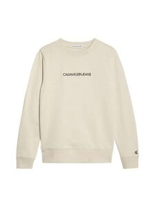 Calvin Klein Kids - Embroided Logo -collegepaita - PGB WHITECAP GRAY | Stockmann