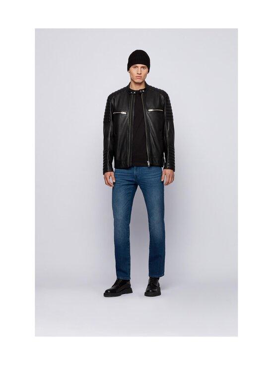 BOSS - Jakoby Leather -nahkatakki - 001 BLACK   Stockmann - photo 6