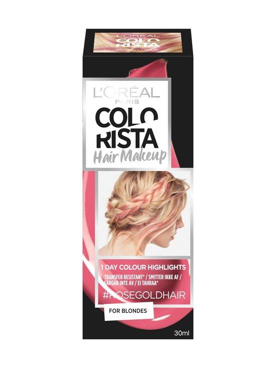 L'Oréal Paris - Colorista Hair Makeup -hiusmeikki 30 ml - #ROSEGOLD | Stockmann - photo 1