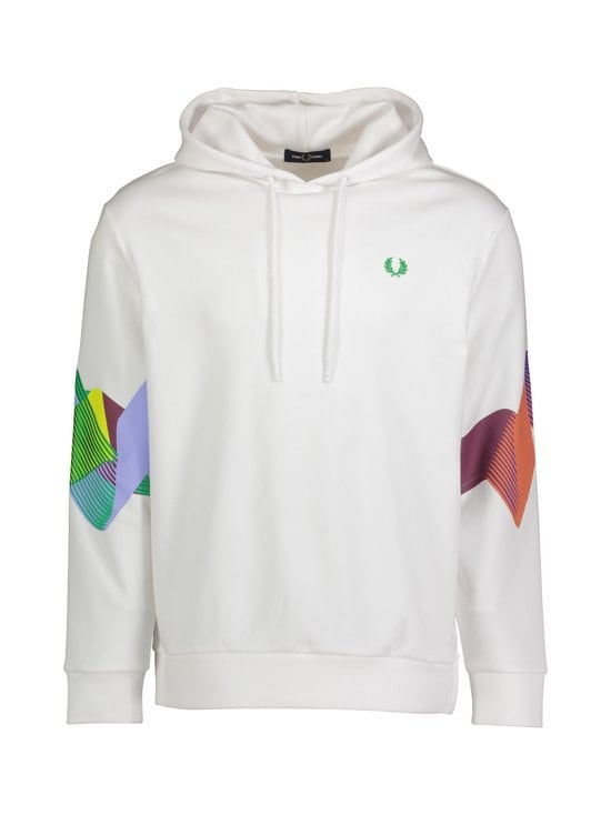 Fred Perry - Abstract Sport -huppari - 100 WHITE   Stockmann - photo 1