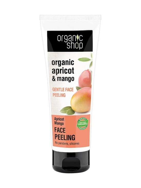 Organic Shop - Apricot & Mango Gentle Face Peeling -kasvokuorinta 75 ml - null | Stockmann - photo 1