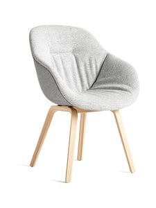 HAY - About A Chair AAC123 Soft Duo -tuoli - GREY/GREY | Stockmann