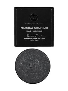 LUIN LIVING - Natural Nordic Forest -palasaippua, Black 80 g - BLACK | Stockmann