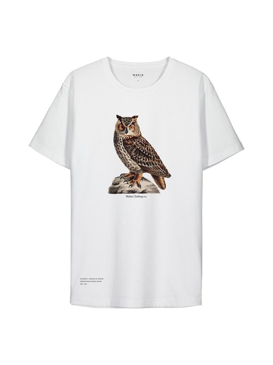 Makia - Makia x Von Wright Bubo -paita - WHITE | Stockmann - photo 1