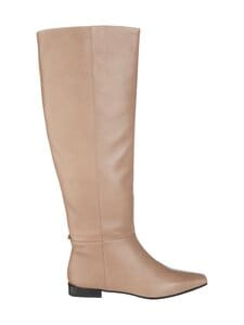 Vagabond - Lene Tall Loose Boots -nahkasaappaat - 26 GREIGE | Stockmann
